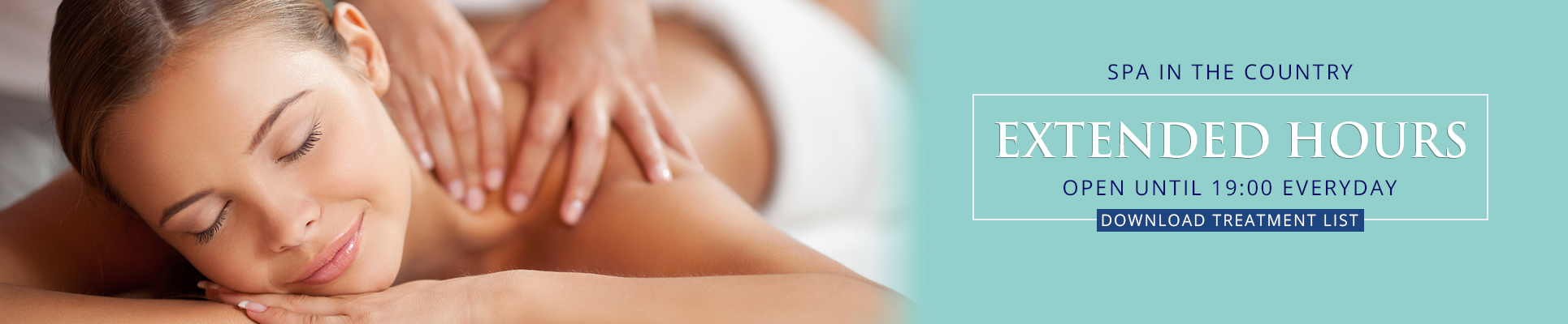 Spa in the Country Black Friday Treatment Specials